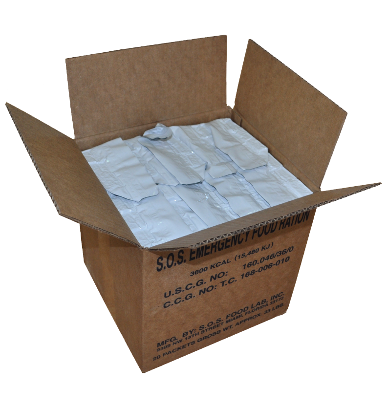 Bulk Emergency Food Rations: Box of 20