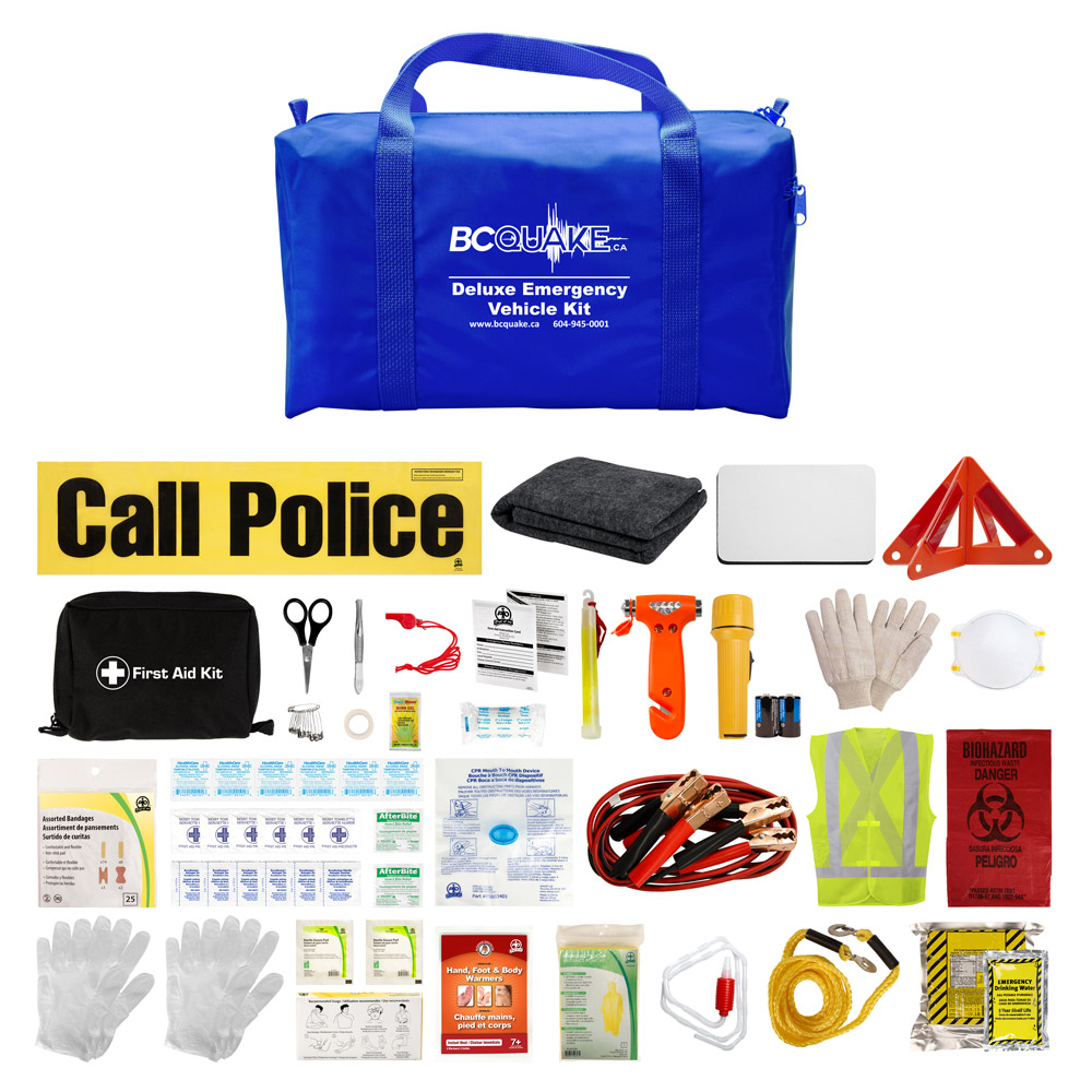 Deluxe Emergency Vehicle Kit