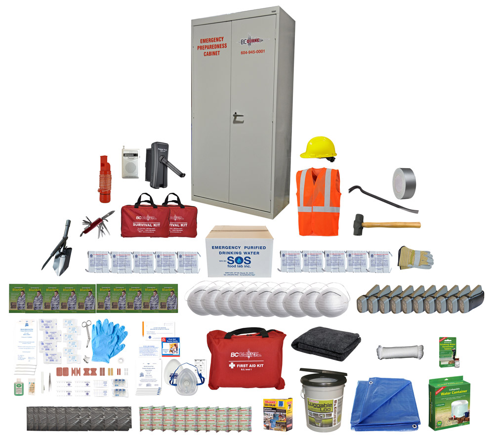 10 Person Emergency Preparedness Cabinet