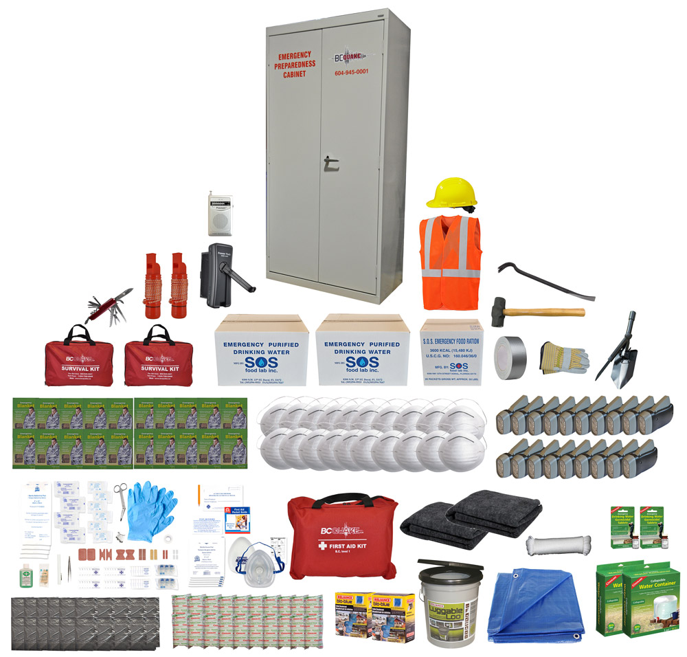 20 Person Emergency Preparedness Cabinet