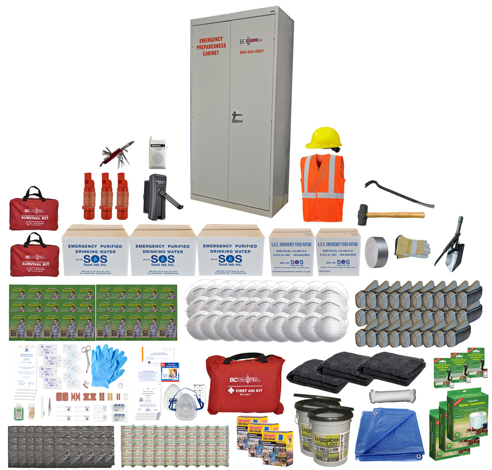 30 Person Emergency Preparedness Cabinet