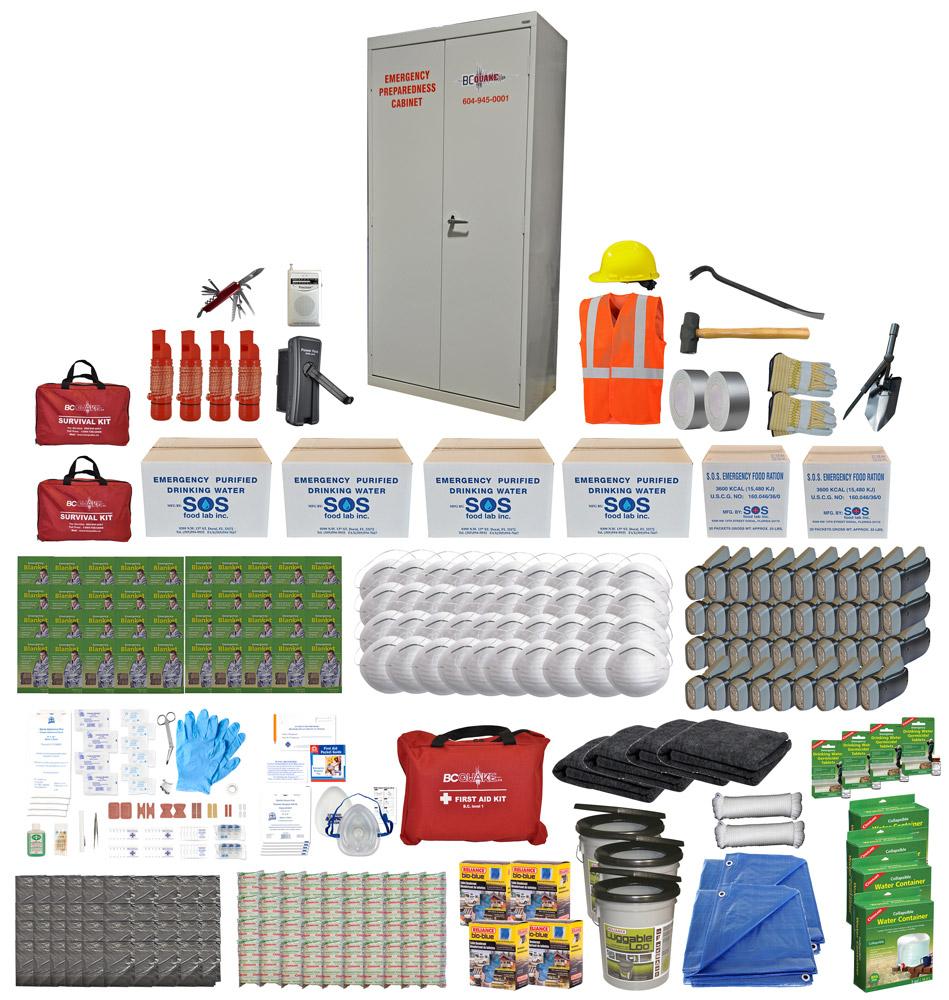 40 Person Emergency Preparedness Cabinet
